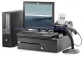 Máy bán hàng POS HP rp5800,  máy bán hàng dùng cho trung tâm thương mại, nhà hàng, siêu thị