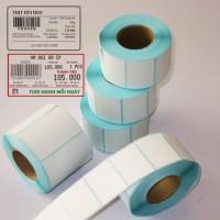 giấy decal cho cân in tem siêu thị, giấy in cân điện tử