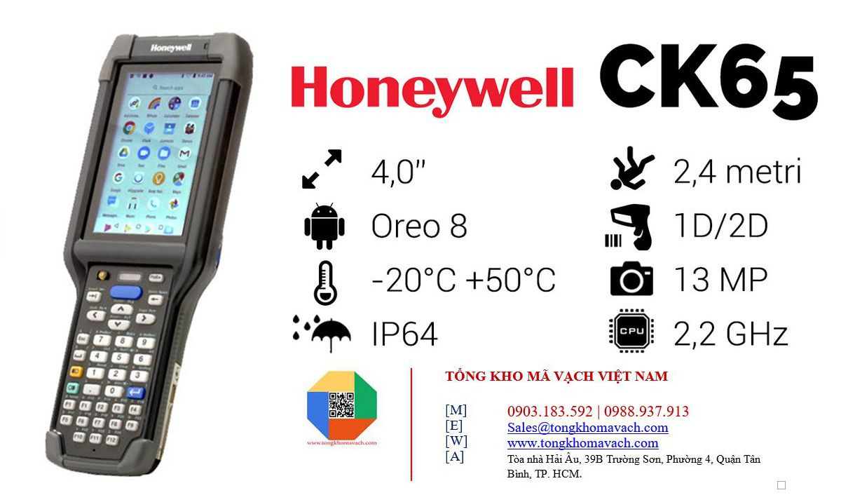 honeywell ck65