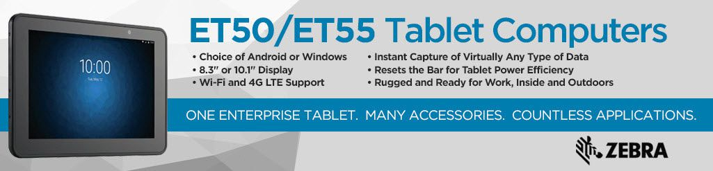 zebra et55 tablet Computers