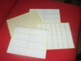 giấy decal in tem nhãn mã vạch Avery Fasson khổ A4
